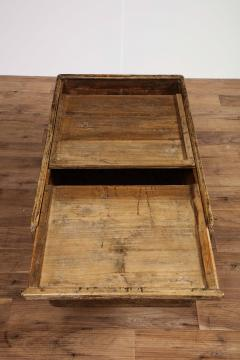 Antique Elm Storage Box - 1459715