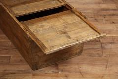 Antique Elm Storage Box - 1459716