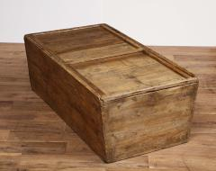 Antique Elm Storage Box - 1459717