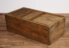 Antique Elm Storage Box - 1459718