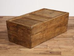 Antique Elm Storage Box - 1459720