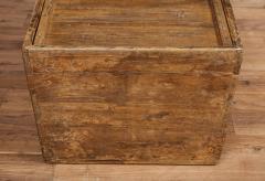 Antique Elm Storage Box - 1459721