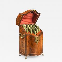 Antique English 18thc Walnut Cutlery Box of the Early Georgian Period - 1292775