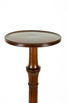Antique English Mahogany Fern Stand Pedestal Table - 554919