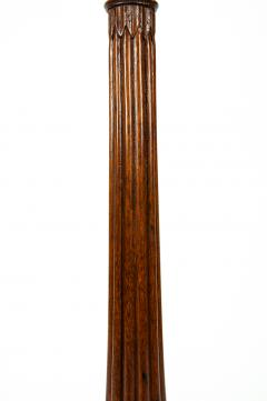 Antique English Mahogany Fern Stand Pedestal Table - 554921