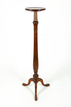 Antique English Mahogany Fern Stand Pedestal Table - 554923