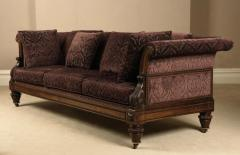 Antique English Regency Period Rosewood Settee Sofa probably Gillows Lancaster - 1258389