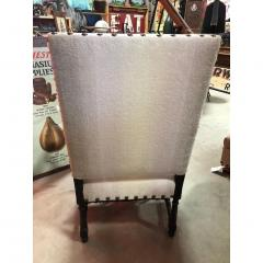Antique English Wood Carved Arm Chair - 1365105