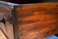Antique Etagere Cabinet Server 19th Century Mahogany Continental - 1236153