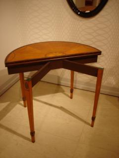 Antique Extendable Console Games Tables - 1966811