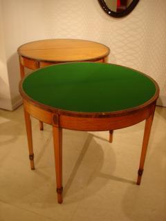 Antique Extendable Console Games Tables - 1966816