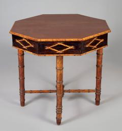 Antique Faux Bamboo Center Table - 1197970