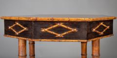 Antique Faux Bamboo Center Table - 1197974