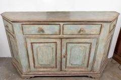 Antique Four Door Painted Tuscan Buffet - 1387590