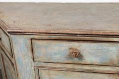 Antique Four Door Painted Tuscan Buffet - 1387591