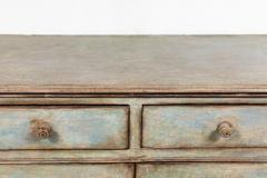 Antique Four Door Painted Tuscan Buffet - 1387592