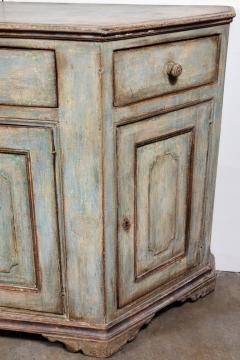 Antique Four Door Painted Tuscan Buffet - 1387593