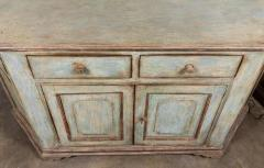 Antique Four Door Painted Tuscan Buffet - 1387594