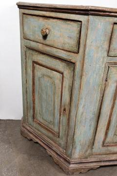 Antique Four Door Painted Tuscan Buffet - 1387595