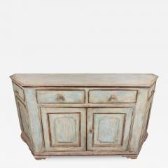 Antique Four Door Painted Tuscan Buffet - 1388317