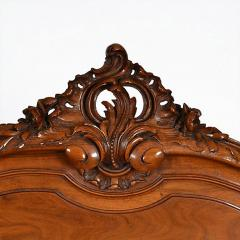 Antique French Louis XV Walnut Marble Top Server Buffet - 163207