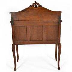 Antique French Louis XV Walnut Marble Top Server Buffet - 163244