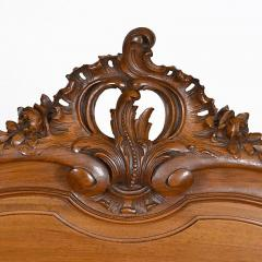 Antique French Louis XV Walnut Marble Top Server Buffet - 163248