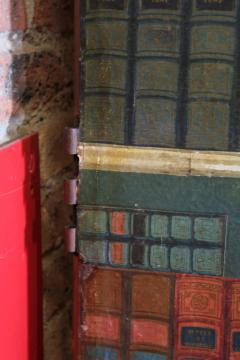 Antique French Secret Passage Way Double Doors - 1365014