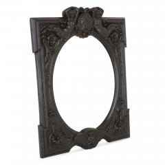 Antique French ebony dressing table mirror - 1683158