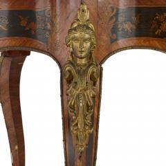 Antique French marquetry and gilt bronze centre table - 1433218