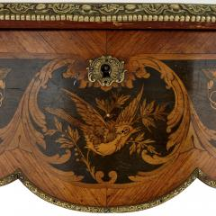 Antique French marquetry and gilt bronze centre table - 1433219