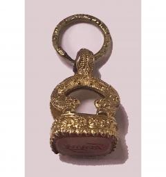Antique Georgian Pendant Seal Fob English C 1830 - 1167713