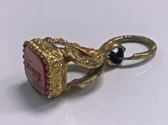 Antique Georgian Pendant Seal Fob English C 1830 - 1167714