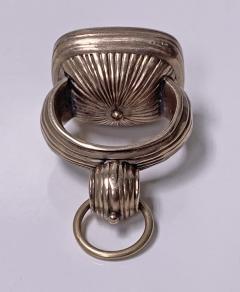 Antique Georgian rose Gold and Carnelian Seal Fob C 1820  - 2112829