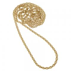 Antique Gold Link Chain - 1121805