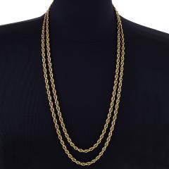 Antique Gold Link Chain - 1121806