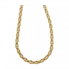 Antique Gold Link Chain - 1122733
