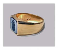 Antique Gold Sardonyx Ring C 1890 - 316577