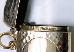 Antique Gold Vesta Case Chester 1905 - 1718441