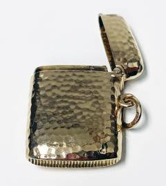 Antique Gold Vesta Case Chester 1905 - 1718442