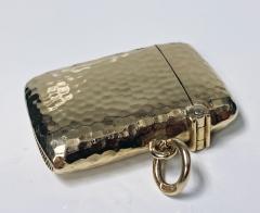Antique Gold Vesta Case Chester 1905 - 1718443