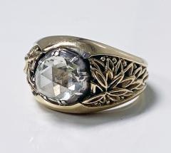 Antique Gold and Rose cut Diamond Ring C 1930 - 2071695