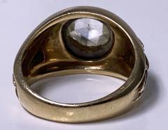 Antique Gold and Rose cut Diamond Ring C 1930 - 2071697