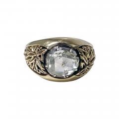 Antique Gold and Rose cut Diamond Ring C 1930 - 2072371