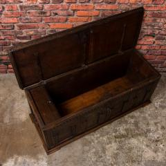 Antique Hand Carved German Baroque Trunk - 982145