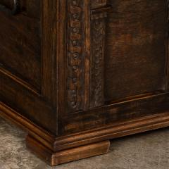 Antique Hand Carved German Baroque Trunk - 982147
