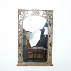 Antique Hand carved Wood Frame and Mirror Tommy Bahama - 1192447