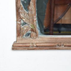 Antique Hand carved Wood Frame and Mirror Tommy Bahama - 1192452