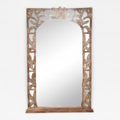 Antique Hand carved Wood Frame and Mirror Tommy Bahama - 1193792