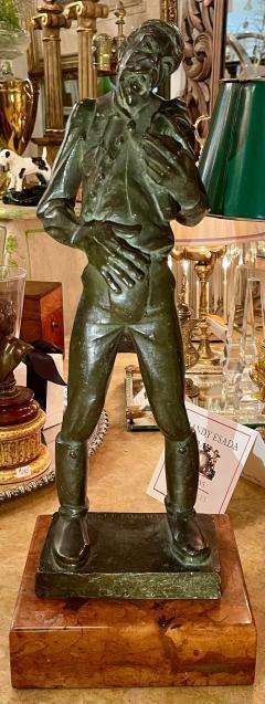 Antique Hungarian Bronze Sculpture by Kerenyi - 2076608